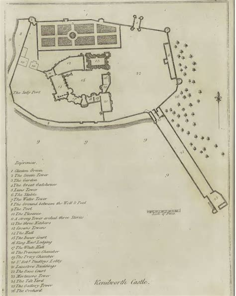 floor plan of castle kenilworth castle floorplan