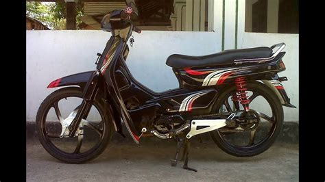 gambar motor honda honda astrea grand modifikasi trail images