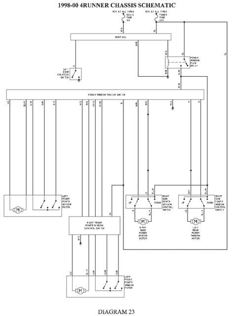 toyota 4runner wiring diagram ecu wiring diagram with