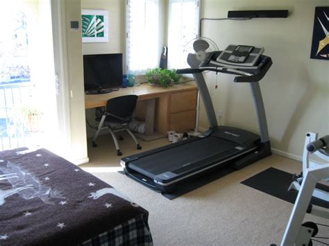 treadmill in bedroom treadmill and desk with tv and ema