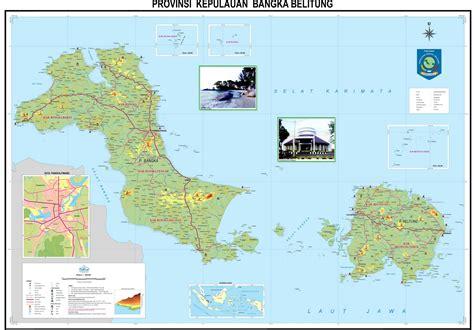 peta kota peta provinsi kepulauan bangka belitung