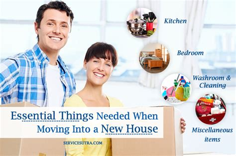 items needed for a new house list of essential things needed when moving into a new house