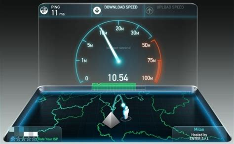 test speed fastweb calcolare velocit 224 upload adsl ecco come fare