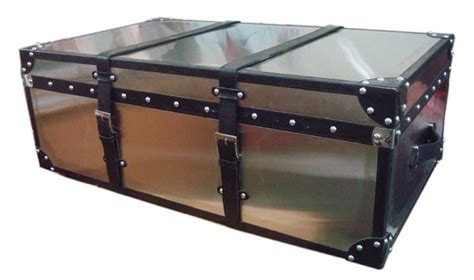 metal trunk coffee table metal trunk coffee table peenmedia com