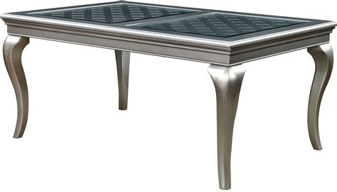 Amina Chagne 66 Quot Rectangular Dining Table Cm3219t 66 66 Dining Table