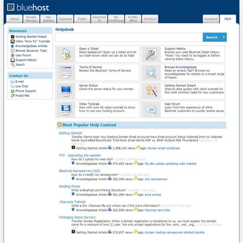 Bluehost Bluehost Ecommerce Templates
