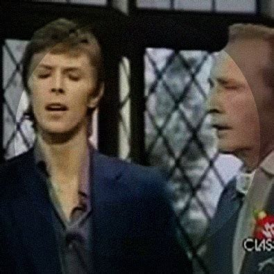 david bowie bing crosby xmas song peace on earth little drummer boy 1977 by david bowie