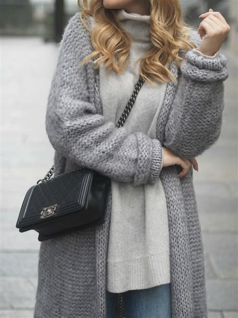 how to wear a knitted cardigan cardigan an autumn fashion trend just