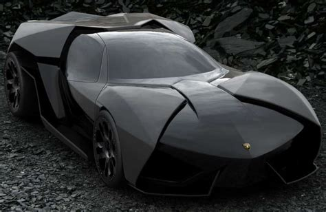 Lamborghini Bat This Lamborghini Is The Batmobile Of Your Nightmares Driving