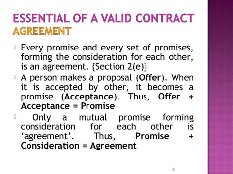 valid contract essential elements elements of a valid contract