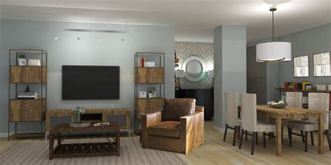 Modern Rustic Living Room Design
