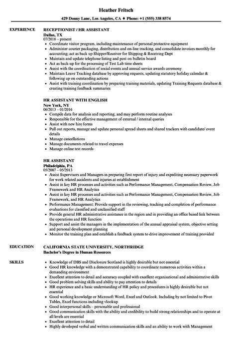 Hr Resume Skills by Human Resource Resume Skills Sanitizeuv Sle