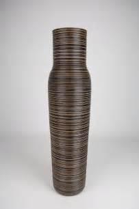 Floor Vases Uk floor vase 115 cm mango wood brown leewadee
