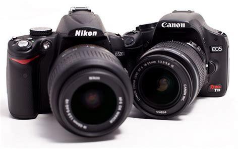 Kamera Canon Eos D5000 nikon d5000 vs canon eos 500d