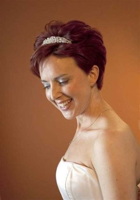 bridal hairstyles for red hair 25 short hair bridal styles short hairstyles 2017 2018