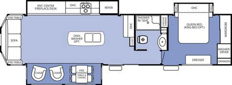 destination trailer floor plans forest river cedar creek cottage destination trailer by