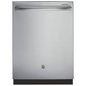 Ge Dishwasher Stainless Steel Tub Ge 24 Quot 48 Db Built In Dishwasher With Stainless Steel Tub
