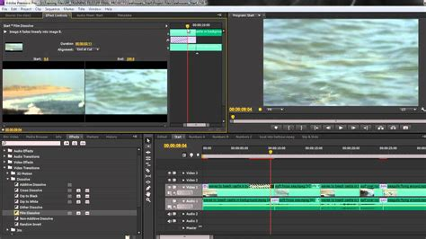 adobe premiere pro video transitions premiere pro cs6 techniques 31 applying transitions