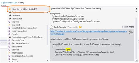 How Do I Lookup An Address Enhancements In Developer Assistant March Update The Visual Studio