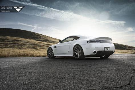 Wheels Aston Martin Vantage aston martin v8 vantage stuns on vorsteiner wheels gtspirit