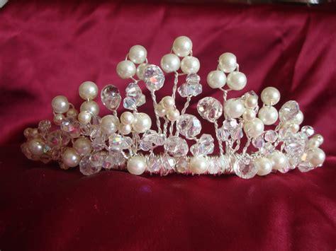 Handmade Tiara - sparkle tiara handmade and bespoke tiara service in