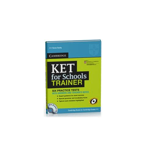libro ket for schools trainer ket for schools trainer six practice tests with answers teachers notes and audio cds 2