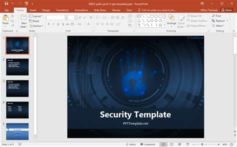 Best Cyber Security Backgrounds For Presentations Cyber Security Powerpoint Template Free