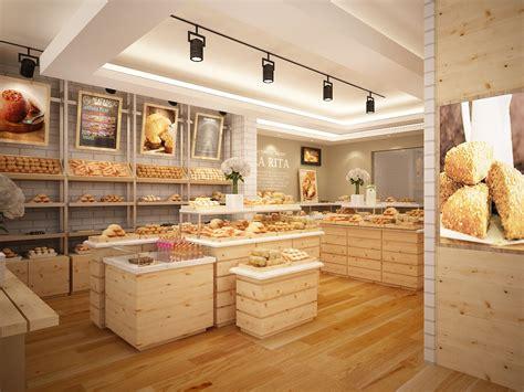 Bakery Interior Design Bar Resto Amp Bakery 3d Visualization Aiviz Studio