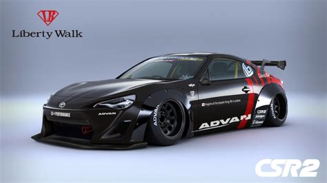 widebody toyota truck toyota 86 gets the widebody treatment from liberty walk
