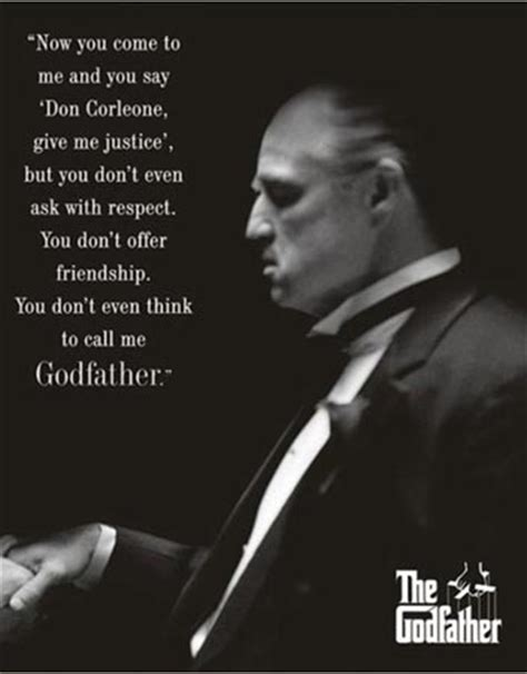 house you came to me godfather vito corleone quotes quotesgram