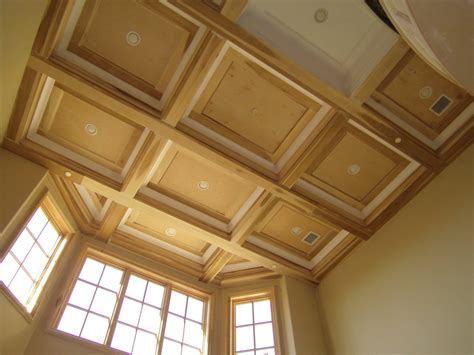 Faux Wainscot - david carpentry image portfolio coffered ceilings faux beams