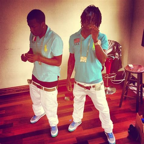 Chief Keef Wardrobe by Chief Keef Wearing Air Spiz Ike Poison Green