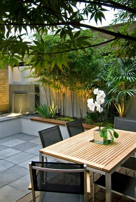 Amenager Terrasse Exterieure by 60 Photos Comment Bien Am 233 Nager Sa Terrasse Murs Gris