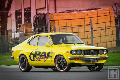 luke s mazda rx3 coupe a sneak peek at a shoot we did