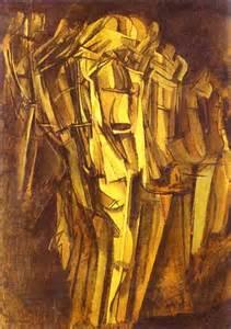 Duchamp Stairs by Marcel Duchamp