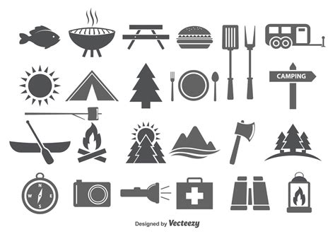 free vector graphic art free photos free icons free cing c food vector icons download free vector