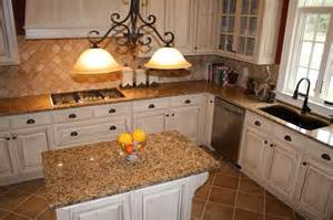 With brown granite help with granite for cream cabinets kitchens