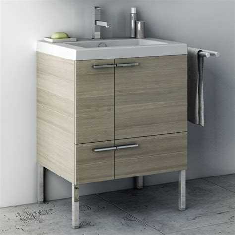 23 inch bathroom vanity 23 inch vanity cabinet with fitted sink contemporary