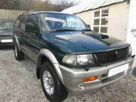 old car repair manuals 1999 mitsubishi challenger seat position control mitsubishi 1999 challenger 2 5 td gls green car for sale