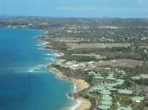 foto de isla de vieques puerto rico view from the plane