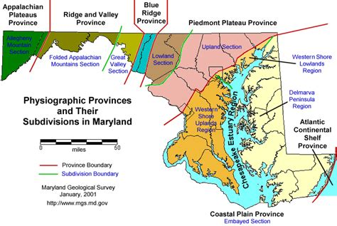maryland dialect map maryland geological survey a brief description of the