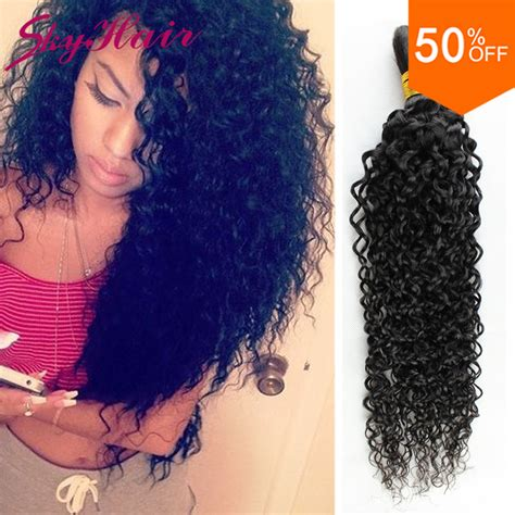 sale promotion curly crochet hair no weft human hair 3 bundle deals aliexpress com buy peruvian virgin hair kinky curly