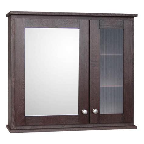 osage cabinet mmcs3027 f dk 2 door medicine cabinet 30x27