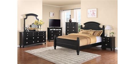 solid wood black bedroom furniture g5925a black poster traditional bedroom set