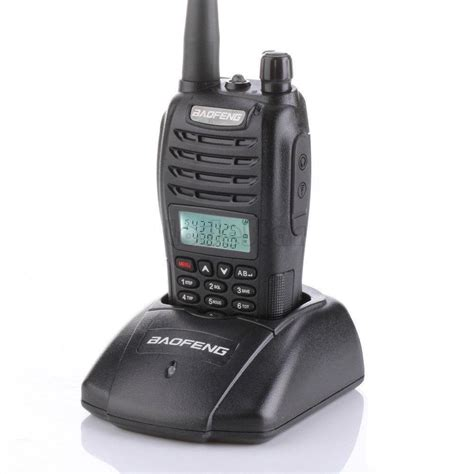 Baofeng Walkie Talkie Dual Band Two Way Radio 5w 128ch Fm A52 aliexpress buy original baofeng walkie talkie uv b6 dual band two way radios pofung