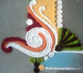 Kids love making rangoli i m sure they will be able to draw this