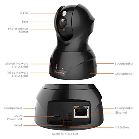 wireless security kamtron hd wifi security