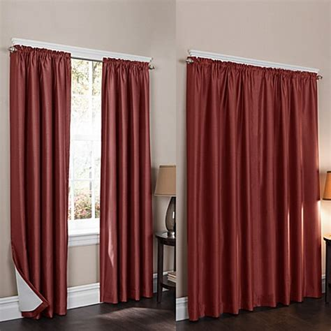 Noise Reducing Window Curtains Buy Wraparound Room Darkening Noise Reducing 2 Pack Window Curtain Panels From Bed Bath