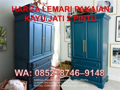 Harga Lemari Bekas by Harga Lemari Pakaian Kayu Jati Minimalis