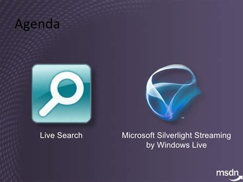 Windows Live Search Session 2 Silverlight And Windows Live Search